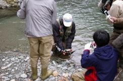 石垣先生「釣りロマンを求めて」ロケ風景 015